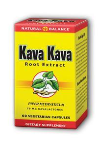 Natural Balance: Kava Kava Root Extract 60ct
