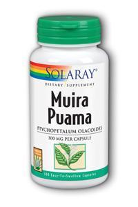 Solaray: Muira Puama Root 100ct 300mg