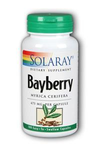 Solaray: Bayberry Bark of Root 100ct 475mg