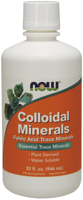 NOW: COLLOIDAL MINERALS ORIGINAL  32 OZ 32 OZ