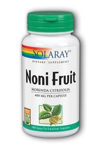Solaray: Noni Fruit 100ct 400mg