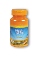 Thompson Nutritional: Niacin 500 30ct 500mg