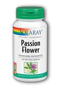 Solaray: Passion Flower 100ct 330mg