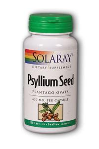 Psyllium Seeds, 100ct 630mg