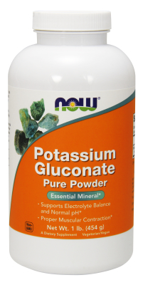 NOW: POTASSIUM GLUCONATE PURE PWD 1 LB