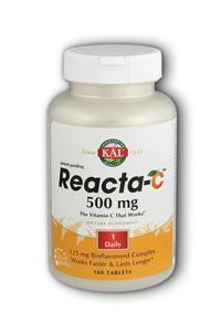 KAL: Reacta-C 500mg with Bioflavonoids 180 Tabs