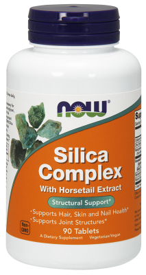 NOW: SILICA COMPLEX 500mg  90 TABS 1