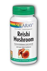 Solaray: Reishi Mushroom 100ct 600mg