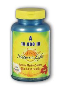 Natures Life: Vitamin A 10,000 IU 250ct