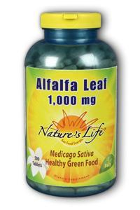 Alfalfa leaf, 1,000 mg