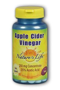 Natures Life: Apple Cider Vinegar 100ct