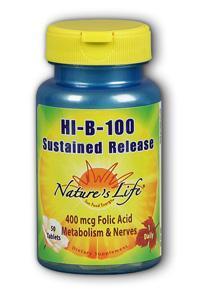 Natures Life: HI-B-100 B-Complex 50ct