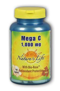 Natures Life: Mega C 1,000 100ct