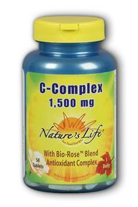 Natures Life: C-Complex 1,500 mg 50ct
