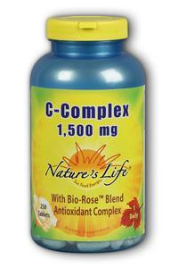 Natures Life: C-Complex 1,500 mg 250ct