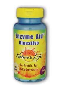 Natures Life: Enzyme Aid Digest 100ct