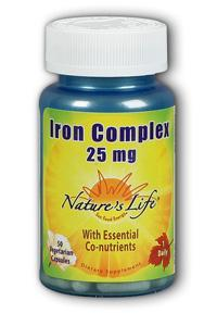 Natures Life: Iron Complex 50ct