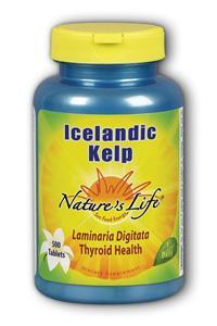 Natures Life: Icelandic Kelp 500ct