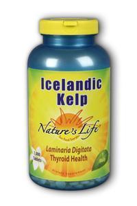 Natures Life: Icelandic Kelp 1000ct