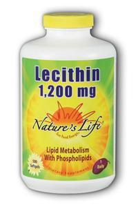 Natures Life: Lecithin, 1,200 mg 500ct