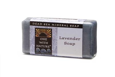 ONE WITH NATURE: Lavender Travel size Soap 1 oz