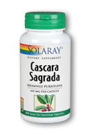 Solaray: Cascara Sagrada 180ct 450mg