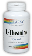 solaray theanine 90 size