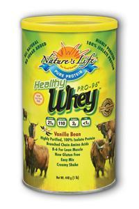Natures Life: Healthy Whey Pro 96 Protein 13oz
