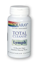 Solaray: Total Cleanse Lymph 60ct