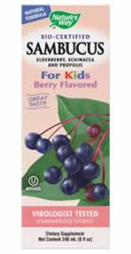 NATURE'S WAY: SAMBUCUS FOR KIDS 8OZ