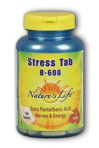 Natures Life: Stress Tab B 600 100ct