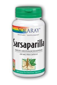 Sarsaparilla Root, 100ct 450mg
