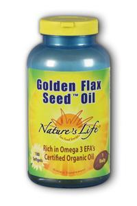 Natures Life: Golden Flax Seed Oil 180ct