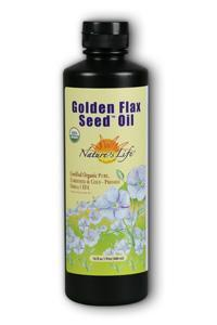 Natures Life: Golden Flax Seed Oil 16oz