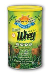 Natures Life: Green Whey Pro-96® Protein 13oz