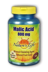 Natures Life: Malic Acid 800mg 100ct