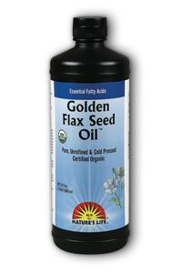 Natures Life: Golden Flax Seed Oil 32oz
