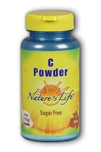 Natures Life: C Powder+ Calcium Magnesium Vitamin K 4oz