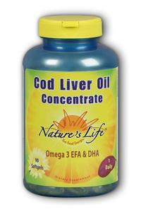 Natures Life: Cod Liver Oil Concentrate 90ct