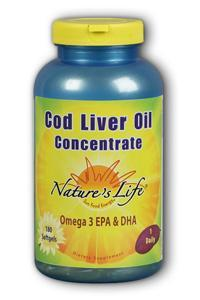 Natures Life: Cod Liver Oil Concentrate 180ct