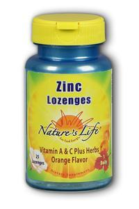 Natures life: Zinc lozenges 25ct