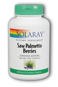 Saw Palmetto Berries, 180ct 580mg