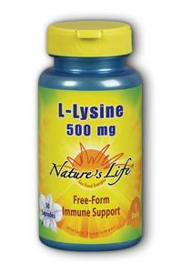 Natures Life: L-Lysine, 500 mg 50ct