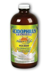 Natures Life: Milk Base, Acidophilus 16oz