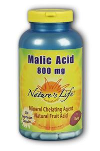 Natures Life: Malic Acid 800 mg 250ct