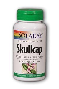 Solaray: Skullcap 100ct 425mg