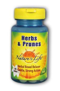 Natures life: Herbs & prunes laxative 100ct