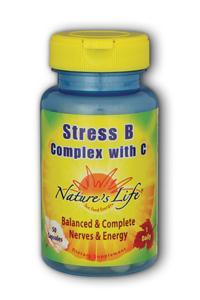 Natures Life: Stress B With C 50ct