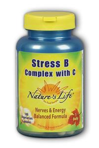 Natures Life: Stress B With C 100ct