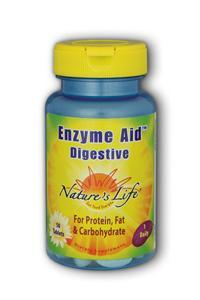 Natures Life: Enzyme Aid Digest Cap 50ct